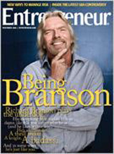Entrepreneur Magazine - November 2008