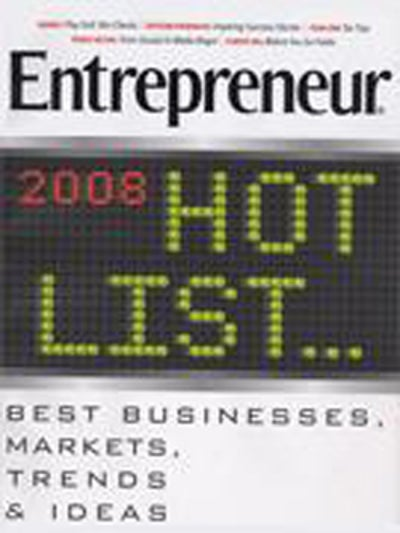 Entrepreneur Magazine - December 2007