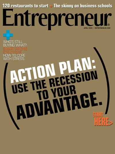 Entrepreneur Magazine - April 2009