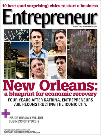 Entrepreneur Magazine - August 2009