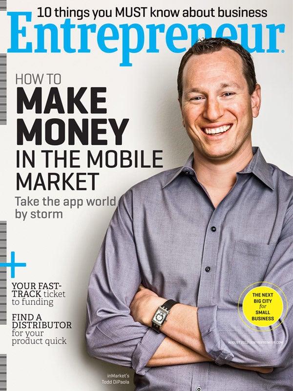 Entrepreneur Magazine - August 2012