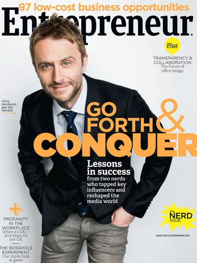 Entrepreneur Magazine - August 2013
