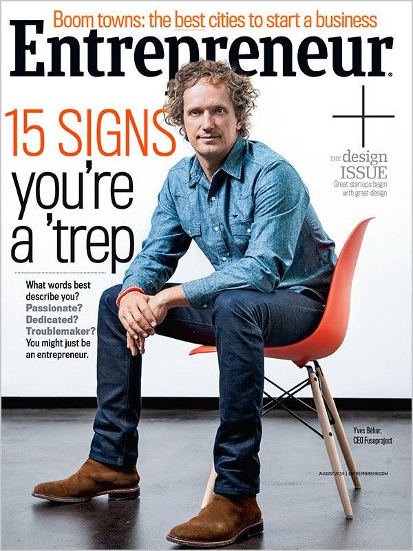 Entrepreneur Magazine - August 2014