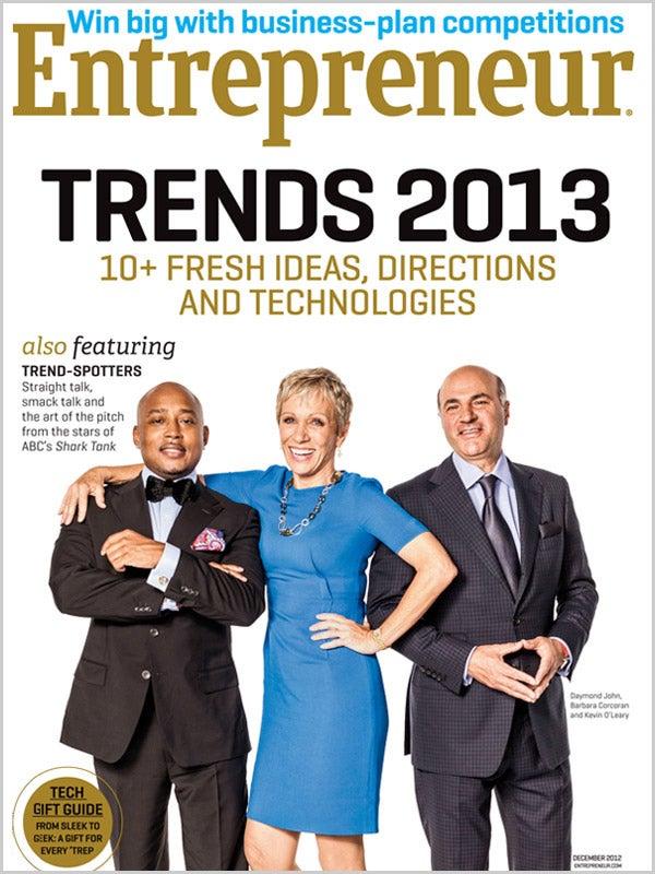 Entrepreneur Magazine - December 2012