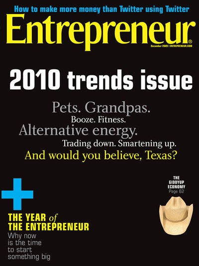 Entrepreneur Magazine - December 2009
