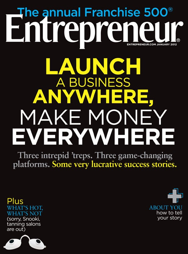 Entrepreneur Magazine - January 2012