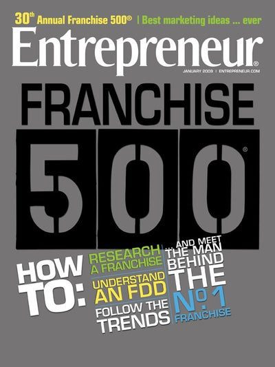 Entrepreneur Magazine - January 2009