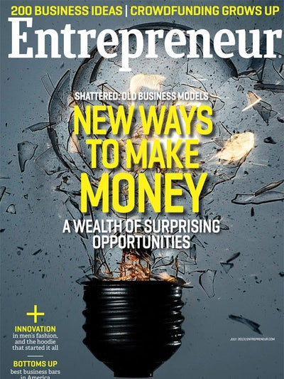 Entrepreneur Magazine - July 2013