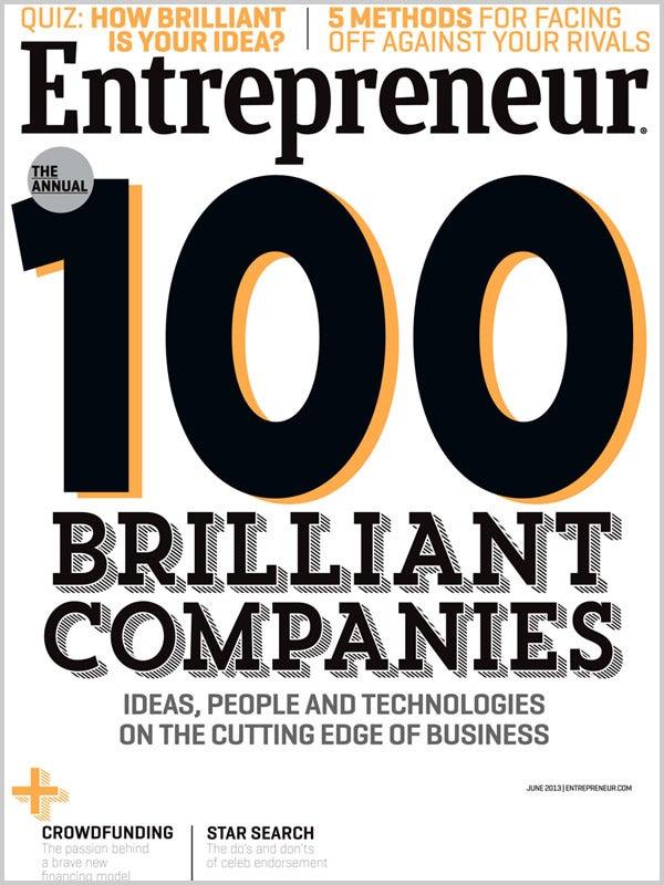 Entrepreneur Magazine - June 2013