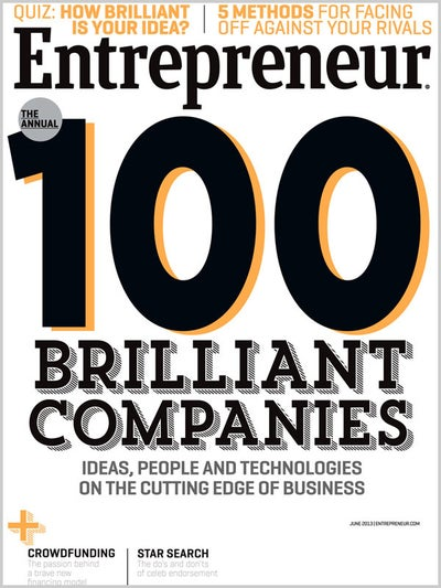 Entrepreneur Magazine - June 2013