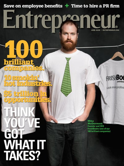 Entrepreneur Magazine - June 2009
