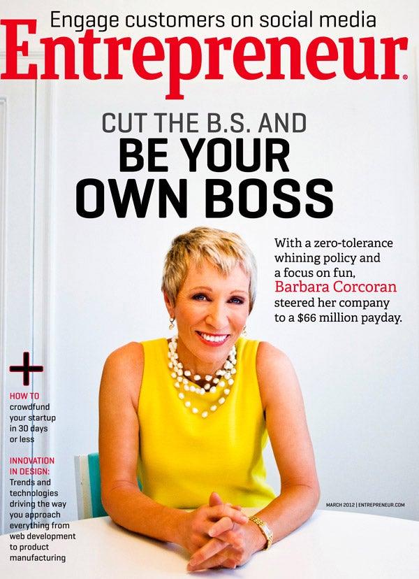 Entrepreneur Magazine - March 2012
