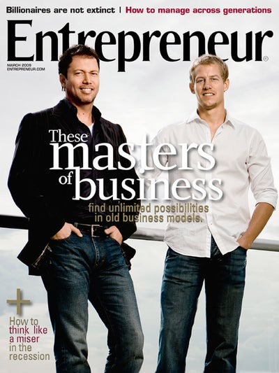 Entrepreneur Magazine - March 2009