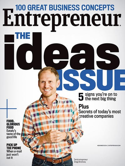 Entrepreneur Magazine - November 2014
