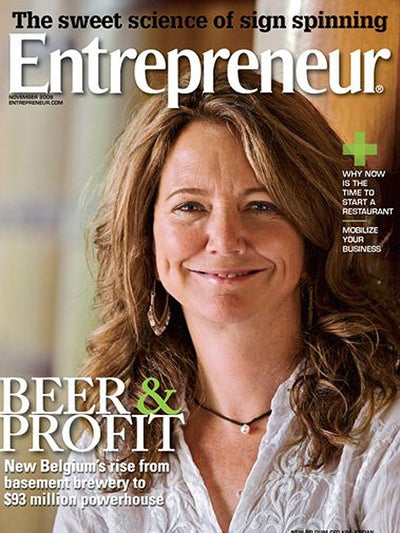 Entrepreneur Magazine - November 2009