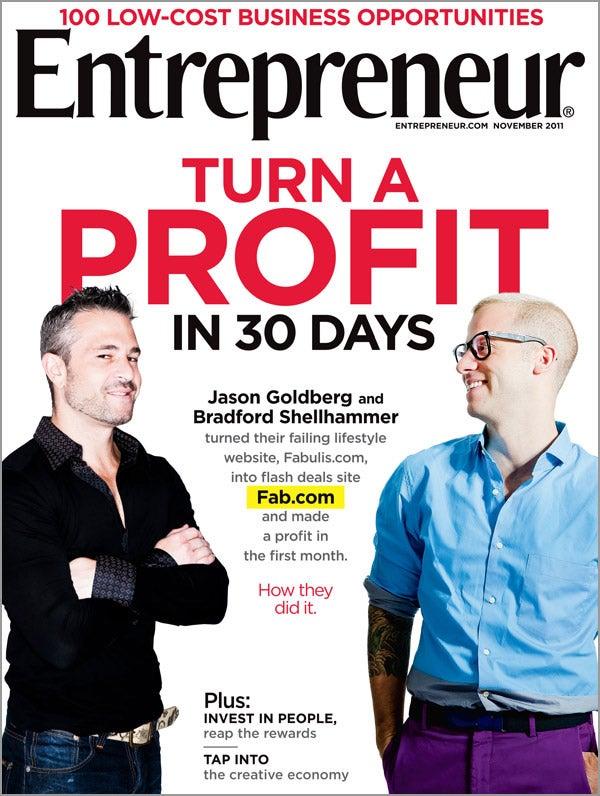 Entrepreneur Magazine - November 2011