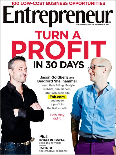 Entrepreneur Magazine - November 2011