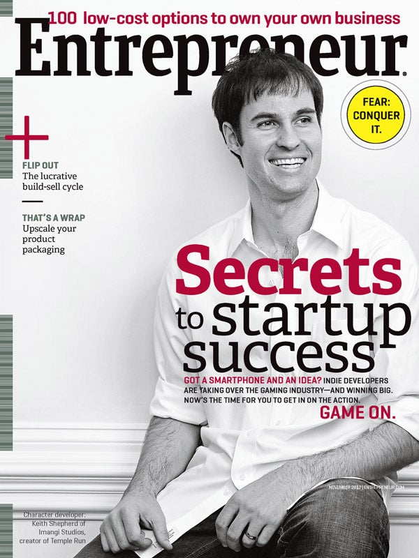 Entrepreneur Magazine - November 2012
