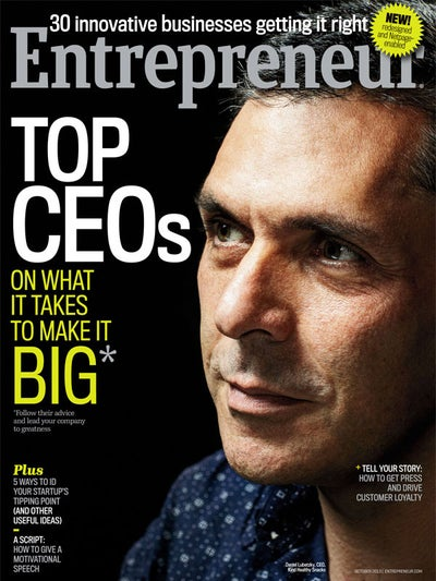 Entrepreneur Magazine - October 2013