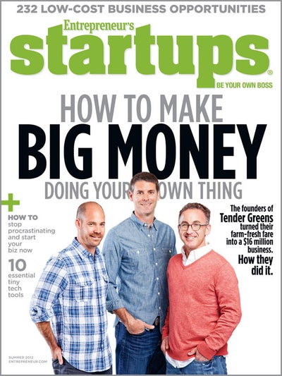 Entrepreneur Startups Magazine - June 2012