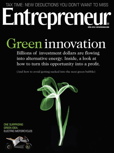 Entrepreneur Magazine - April 2010