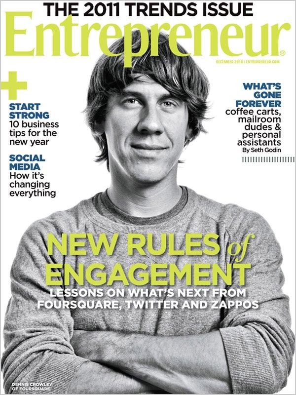 Entrepreneur Magazine - December 2010