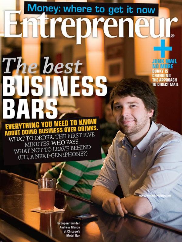Entrepreneur Magazine - July 2010