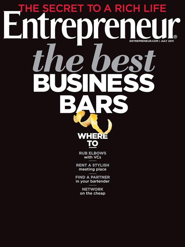 Entrepreneur Magazine - July 2011