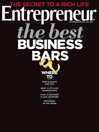 Entrepreneur Magazine - July 2011