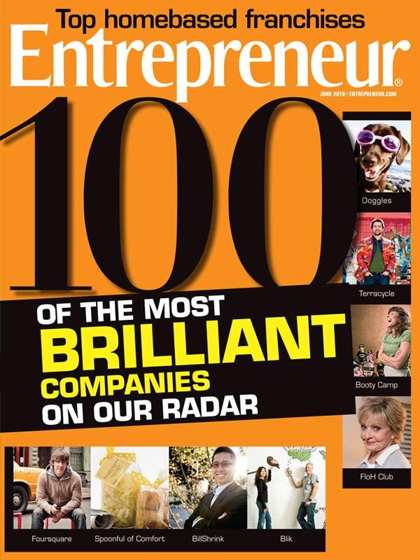 Entrepreneur Magazine - June 2010