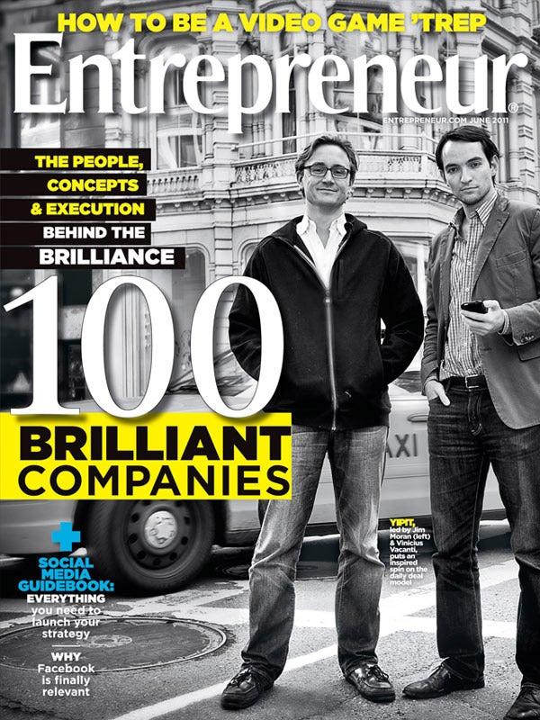 Entrepreneur Magazine - June 2011