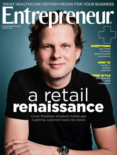 Entrepreneur Magazine - March 2011