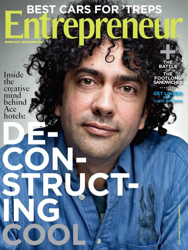 Entrepreneur Magazine - October 2010