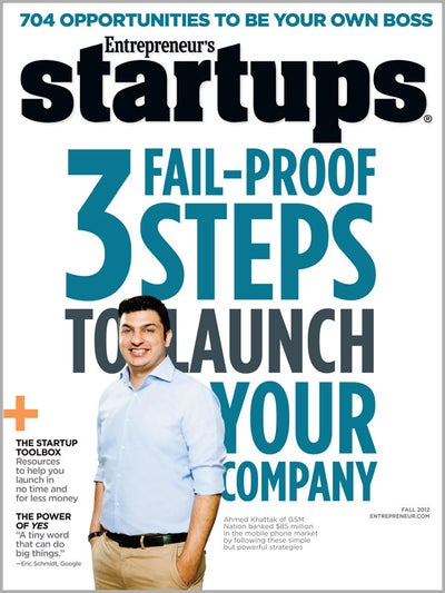 Entrepreneur Startups Magazine - October 2012