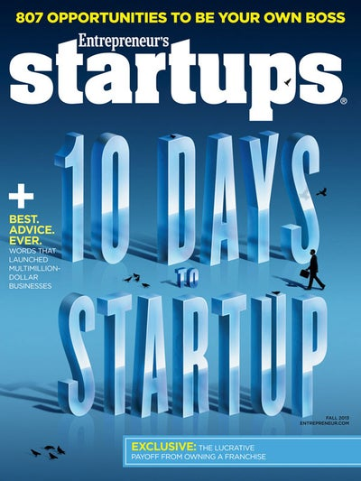 Entrepreneur Startups Magazine - September 2013