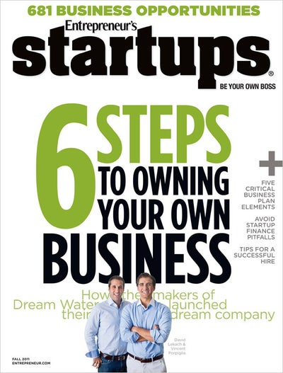 Entrepreneur Startups Magazine - October 2011
