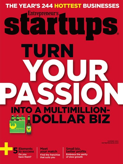 Entrepreneur Startups Magazine - May 2014