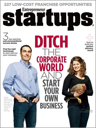 Entrepreneur Startups Magazine - March 2013