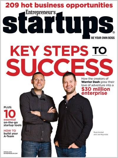 Entrepreneur Startups Magazine - March 2012