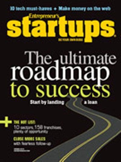 Entrepreneur Startups Magazine - March 2010