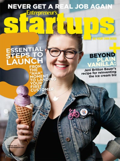 Entrepreneur Startups Magazine - March 2011