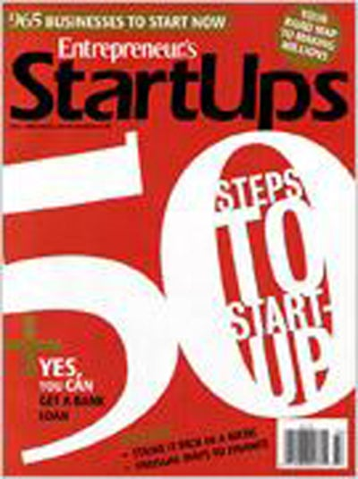 Entrepreneur Startups Magazine - September 2008