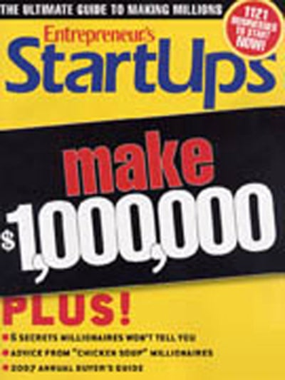 Entrepreneur Startups Magazine - October 2006