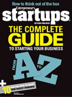 Entrepreneur Startups Magazine - September 2010