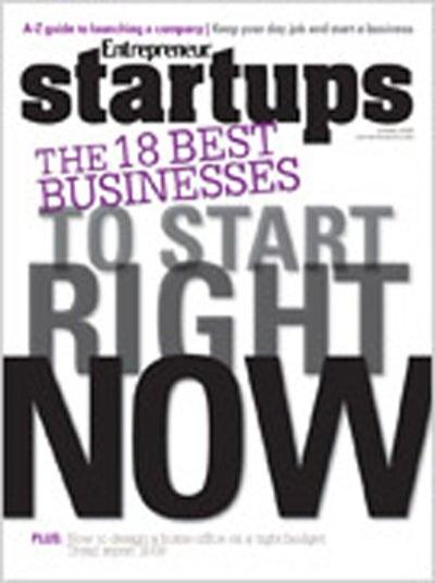 Entrepreneur Startups Magazine - March 2009