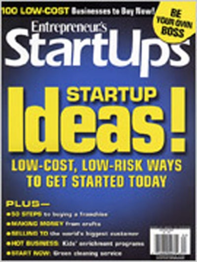 Entrepreneur Startups Magazine - May 2008