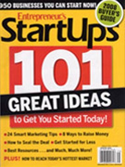 Entrepreneur Startups Magazine - December 2007