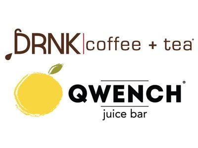 DRNK coffee + tea/QWENCH juice bar