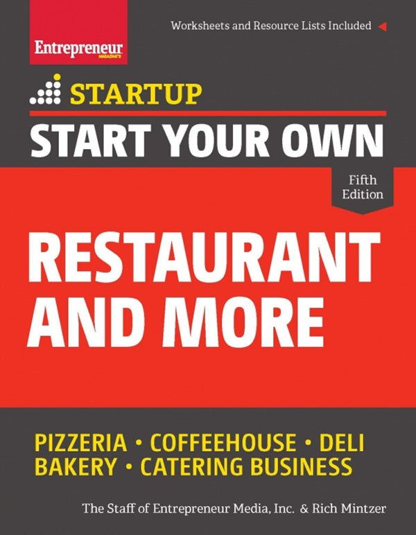 Start Your Own Restaurant and More 5E