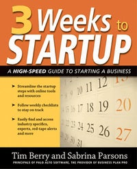 3 Weeks to Startup
